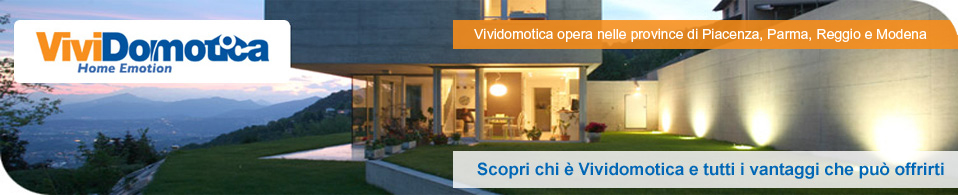 Casa domotica vividomotica - Progetto casa domotica ...